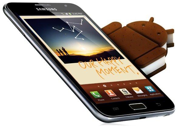 [Odin Rom] Galaxy Note N7000 Orjinal İCS Android 4.0.3 [Türkçe Rom İndir, Yükle]