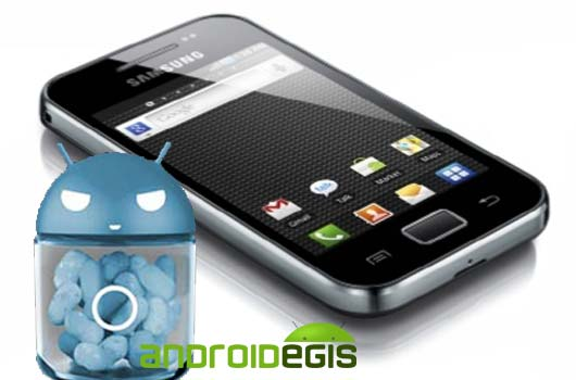 [JB-ROM] Samsung Galaxy Ace S5830; Cyanogenmod CM10 Android Jelly Bean Rom Yükleme İşlemi