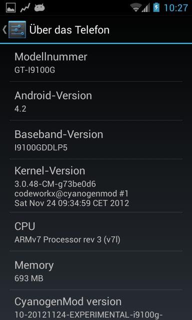 [ROM] Samsung Galaxy s2 [İ9100G]; Cyanogenmod CM 10.1 Android 4.2 Jelly Bean Yükleme İşlemi