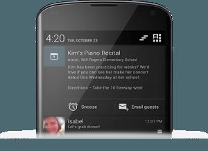notifications 300x218 Android 4.2 Resmen Duyuruldu Detaylar Burada