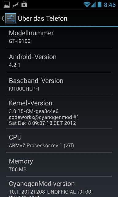 [ROM] Samsung Galaxy s2 [İ9100]; Cyanogenmod CM 10.1 Android 4.2.1 Jelly Bean Yükleme İşlemi