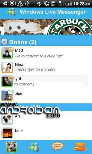 msn messenger android Msn Messenger