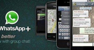 Whatsapp + (Plus); fonksiyonlu ve çevirimdışı modu ile harika! [APK]
