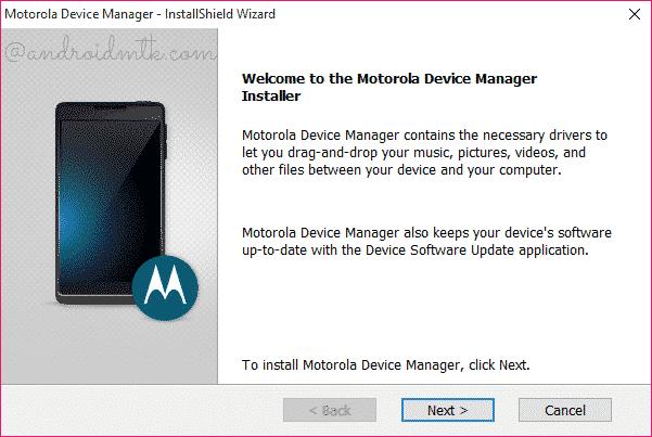 Motorola Cihaz Yöneticisi