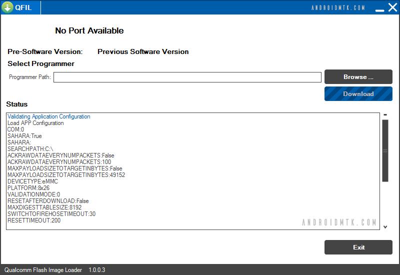 Qualcomm Flash Görüntü Yükleyici QFIL